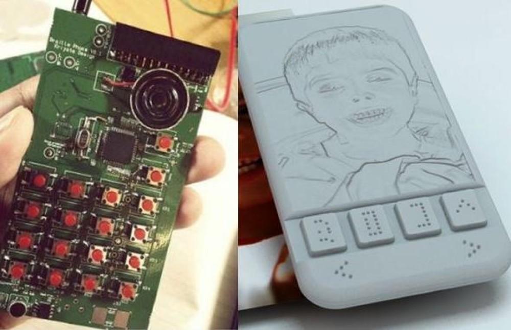 Το πρώτο smartphone με οθόνη Braille για τυφλούς
