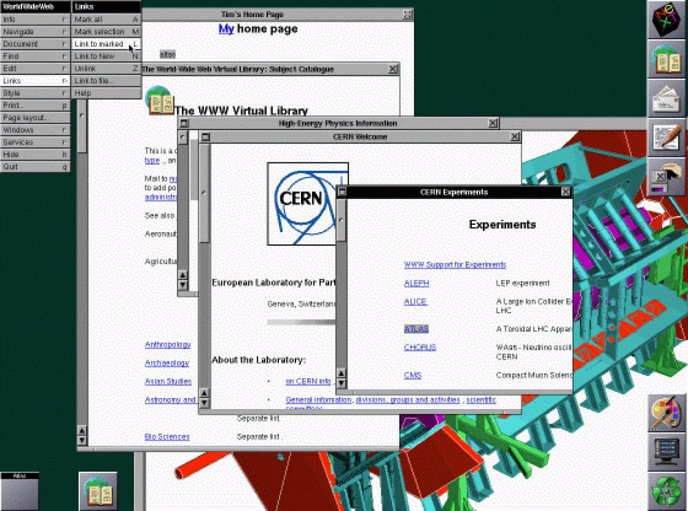 Ο CERN αναβιώνει την πρώτη ιστοσελίδα που ανέβηκε στο Internet πριν από 20 χρόνια!