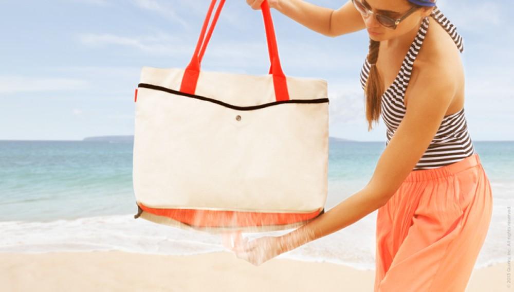 Shake Bag: Πρωτότυπη τσάντα θαλάσσης απομακρύνει από μέσα την άμμο [Video]