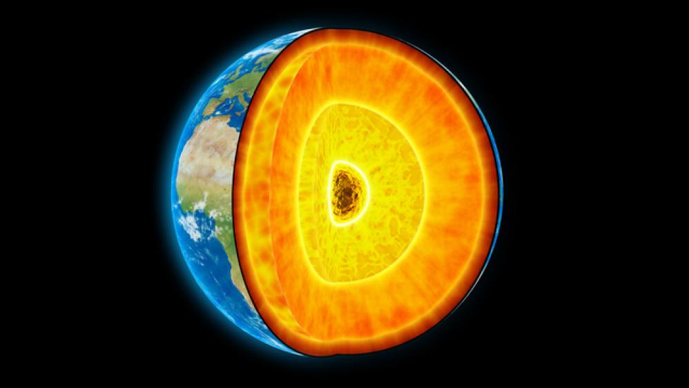 Ο πυρήνας της Γης είναι 1.000°C θερμότερος από αυτό που πιστεύαμε