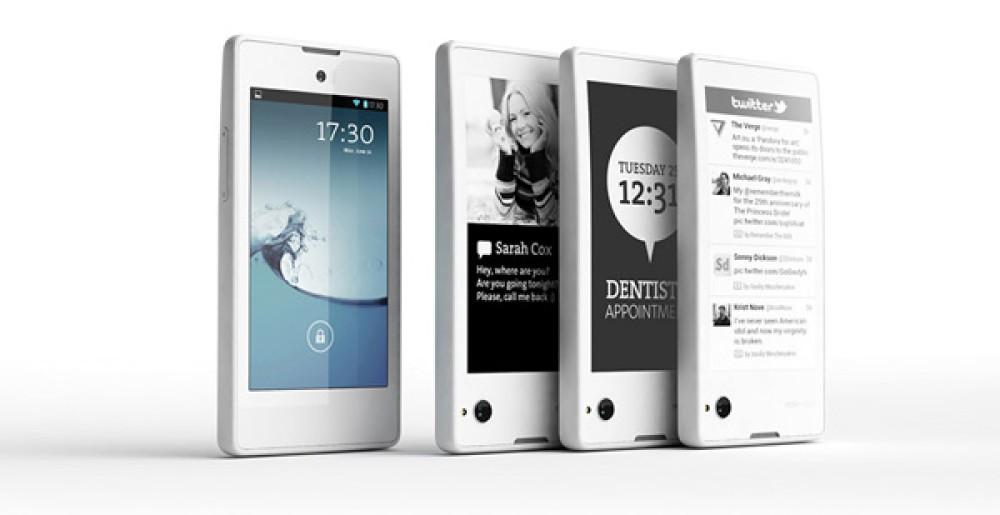 YotaPhone: Το υβριδικό smartphone με τις δύο οθόνες (LCD/eINK) κυκλοφορεί το Δεκέμβριο [Video]