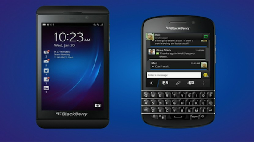 BlackBerry Z10 & Q10, οι δύο νέες συσκευές με BlackBerry 10 OS [VIDEO]
