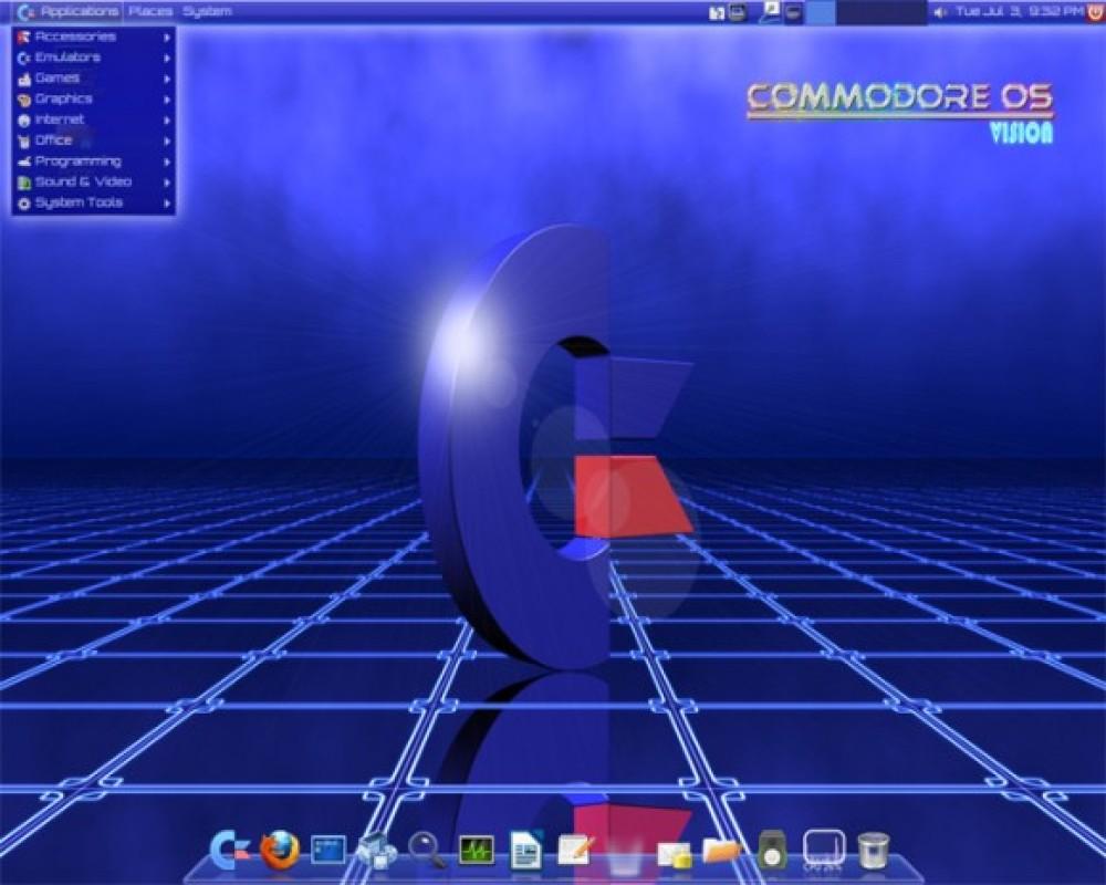 Commodore OS emulator βασισμένο σε Linux! [Video]