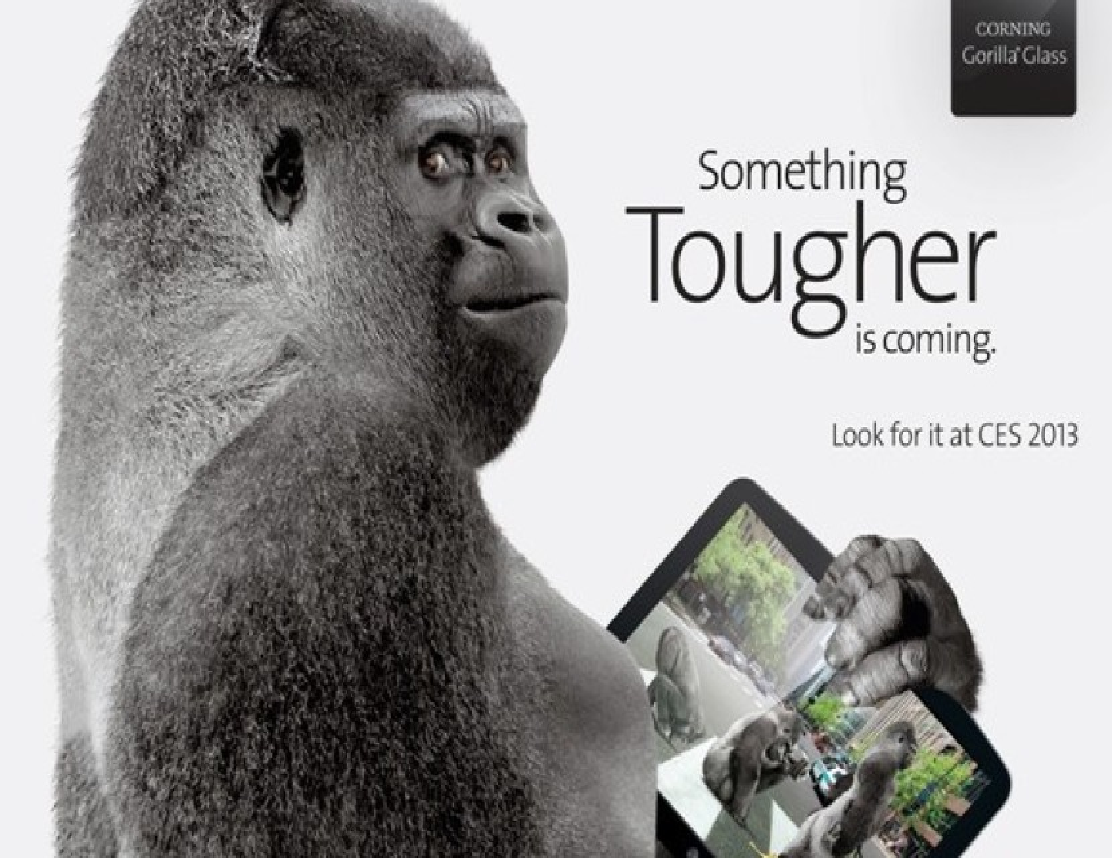 Η Corning ανακοινώνει το Gorilla Glass 3 με μεγαλύτερη αντοχή και 40% λιγότερες γρατσουνιές