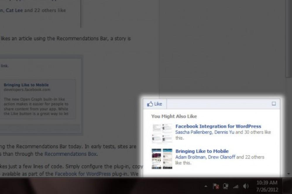 Facebook: Νέα λειτουργία προτεινόμενων άρθρων τύπου Digg