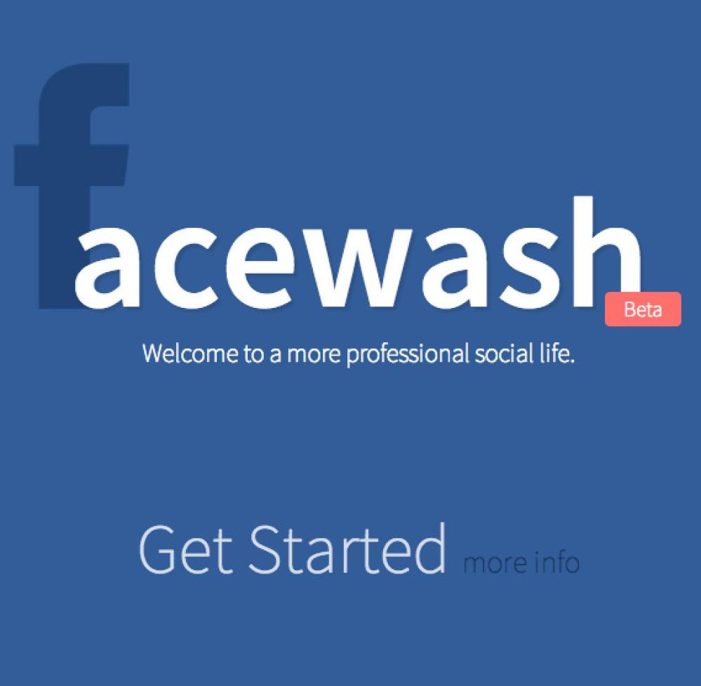 Facewash: Σβήσε καθετί ανεπιθύμητο από το προφίλ σου στο Facebook