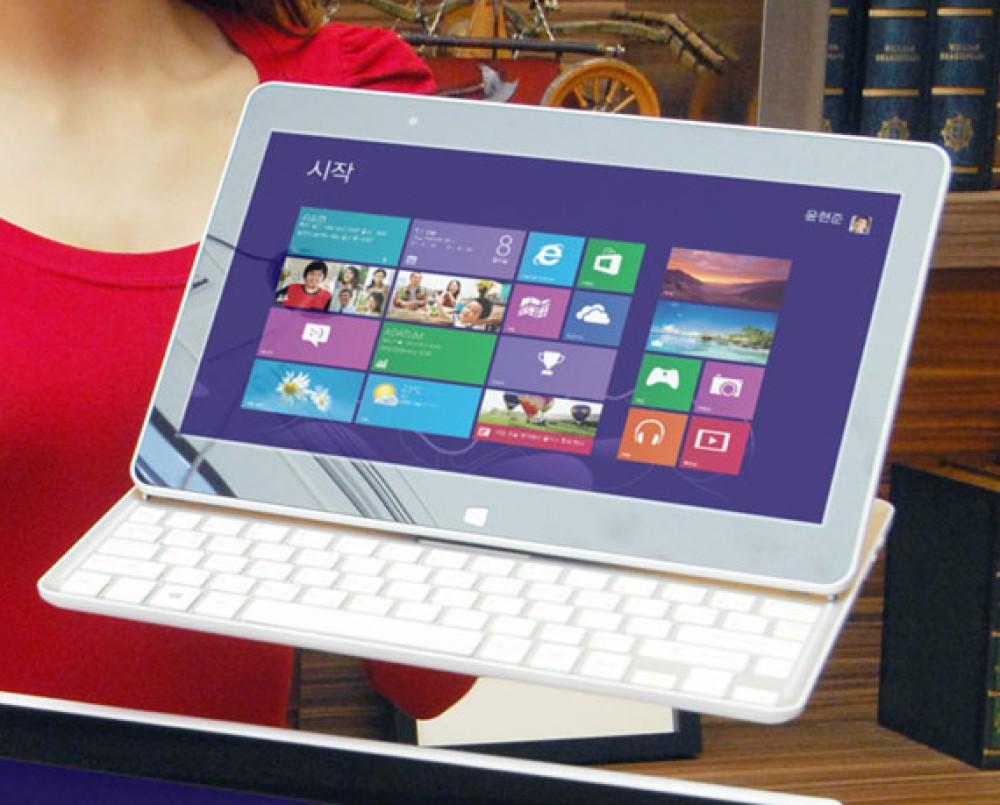 LG H160: Υβριδικό Windows 8 tablet με συρόμενο πληκτρολόγιο [Videos]