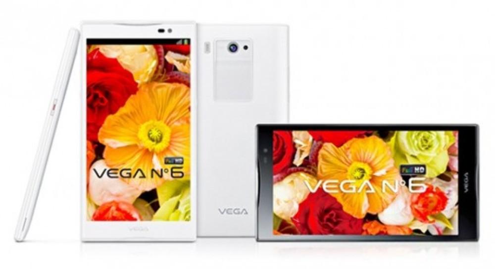 Pantech Vega No.6, επίσημα με οθόνη 5.9'' Full HD, quad-core επεξεργαστή, κάμερα 13MP και Android Jelly Bean [Videos]