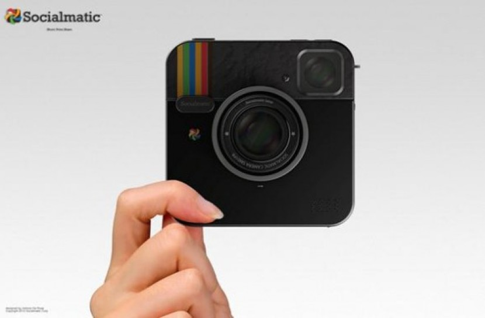 Η φωτογραφική μηχανή Instagram Socialmatic γίνεται πραγματικότητα [Video]