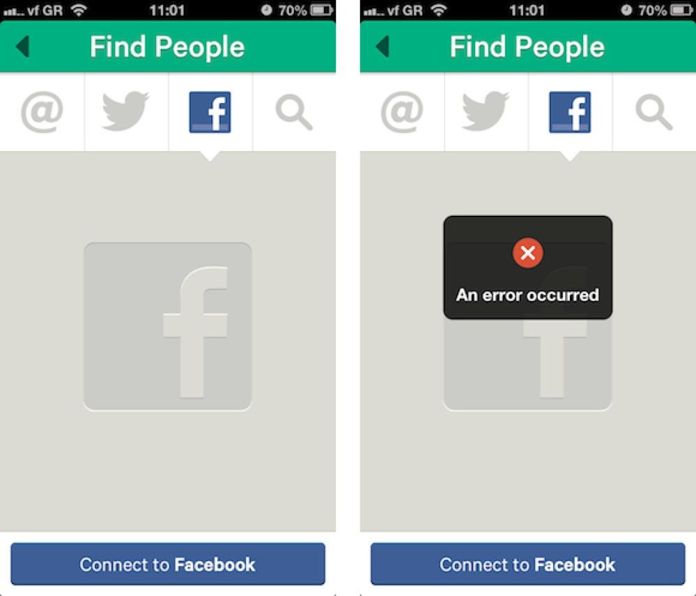 Ο πόλεμος συνεχίζεται: η Facebook απενεργοποίησε την εύρεση φίλων στο Vine της Twitter