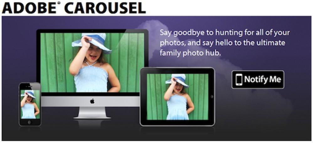 Adobe Carousel, νέα υπηρεσία φωτογραφίας για συσκευές Apple!