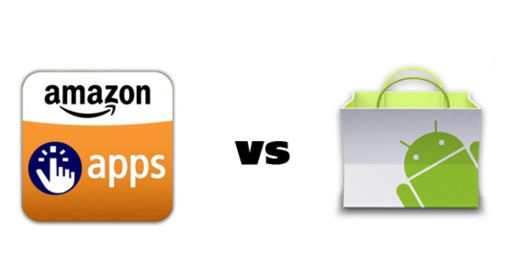 Μεγαλύτερο κέρδος για τους developers στο Amazon Appstore σε σχέση με το Android Market