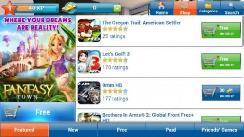 Gameloft LIVE!, νέα εφαρμογή social gaming για Android