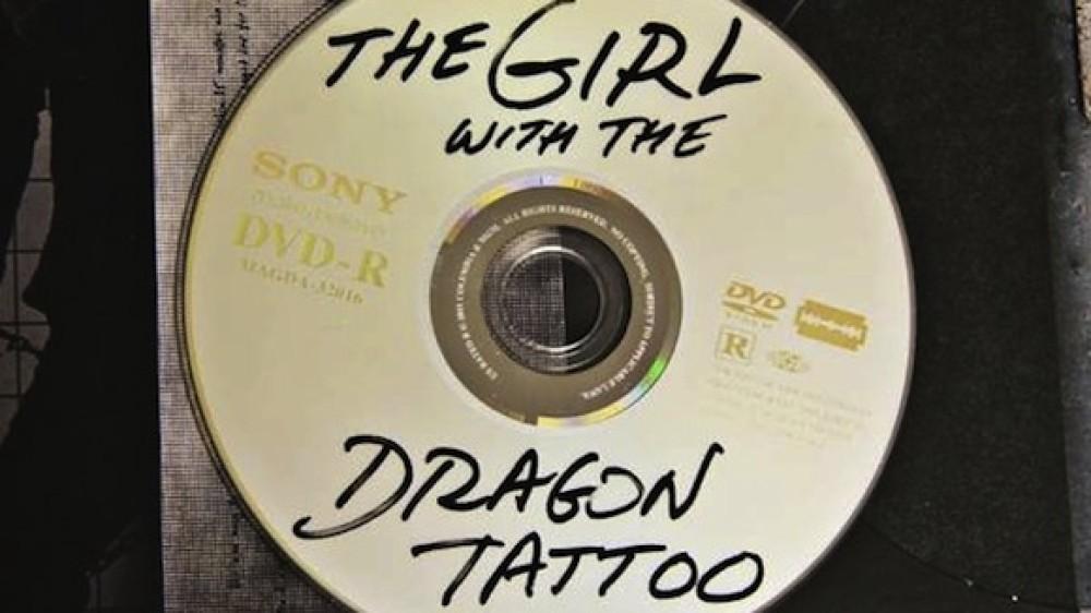 Αυτό είναι το DVD του The Girl With The Dragon Tattoo