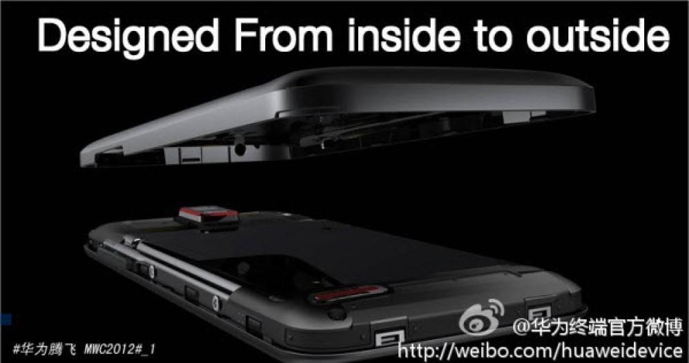 Huawei Ascend D1 Q, οι πρώτες teaser photos του quad-core smartphone λίγο πριν την MWC 2012