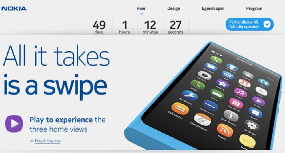 Nokia N9: Στις 23 Σεπτεμβρίου ξεκινά η διάθεση του