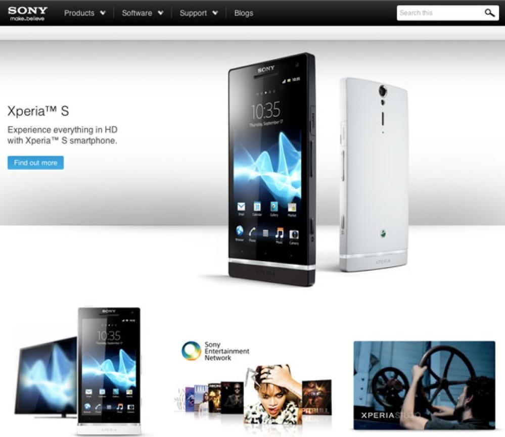 Sonymobile.com, η νέα διεύθυνση μετά την εξαγορά της Ericsson