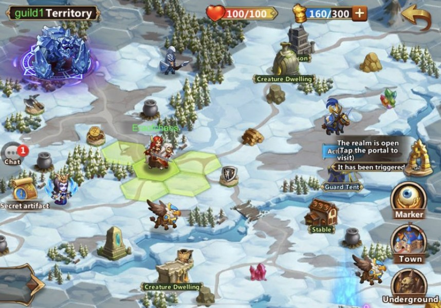 Might & Magic Heroes: Era of Chaos, διαθέσιμο από σήμερα για Android και iOS