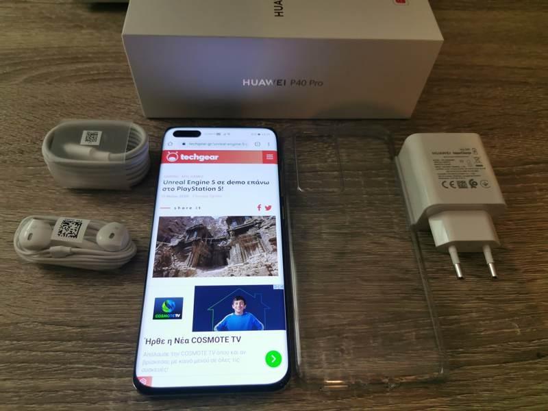 Huawei P40 Pro: Οι «τρικλοποδιές» δεν του στερούν τον τίτλο του κορυφαίου