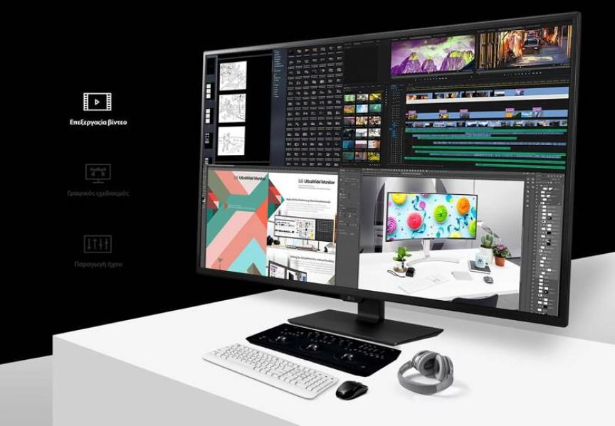 LG 43UN700-B: Νέο UHD 4K monitor για επαγγελματίες και gamers