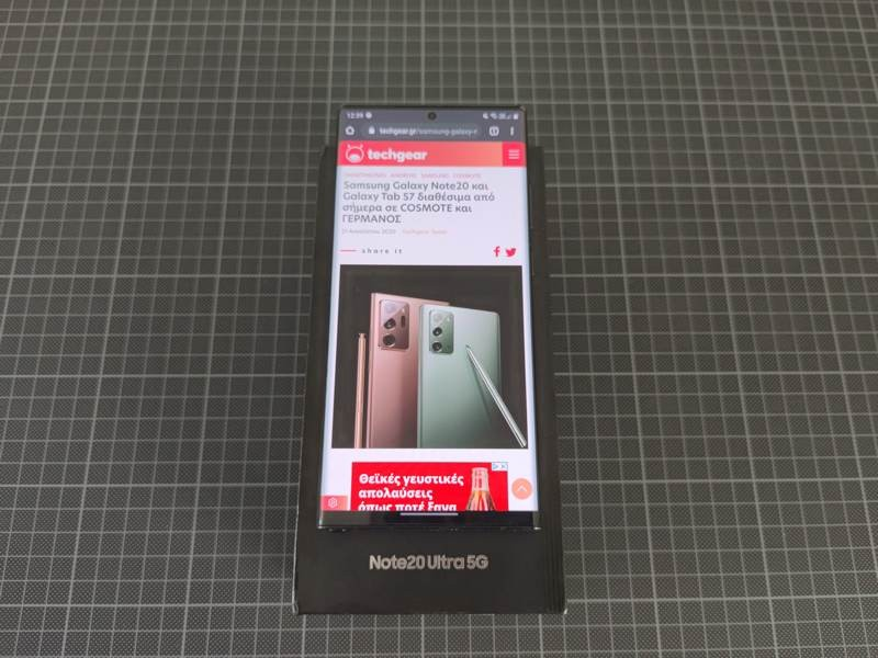Samsung Galaxy Note20 Ultra Review