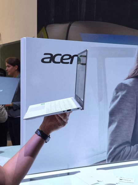 Acer Swift 5 και Swift 3: Ανανέωση με Intel Ice Lake και γραφικά Nvidia