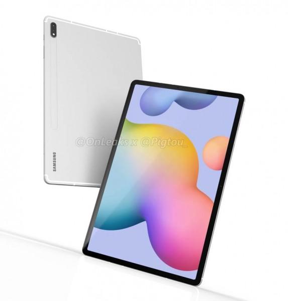 Samsung Galaxy Tab S7+: Το νέο premium tablet θα διαθέτει οθόνη 12.4''