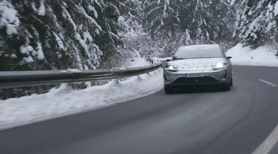 Sony Vision-S: Πραγματικές δοκιμές του αυτόνομου ηλεκτρικού οχήματος στην Ευρώπη