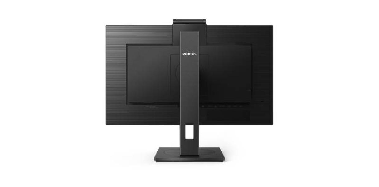 "Philips 243B1JH: Υβριδική σύνδεση και ασφαλής webcam σε μία άνετη, ""πράσινη"" και ισχυρή οθόνη"