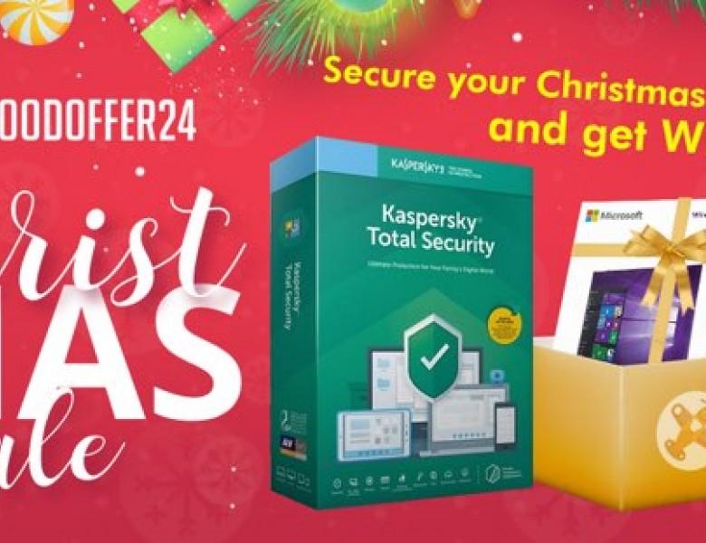 Θέλεις antivirus; Παίρνεις δώρο και ένα κλειδί για Windows 10 Pro!